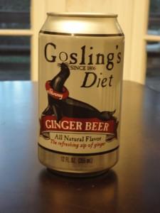 Gosling's Diet Ginger Beer