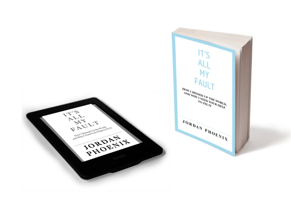 It's All My Fault - book and kindle
