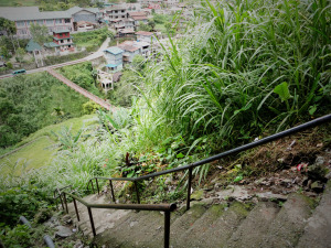 Banaue Stairs to Bridge