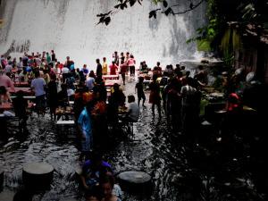 Villa Escudaro Waterfall